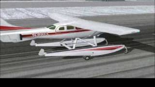 FS2004 Alaskan Bush Pilot, with Cessna C206 stationair Anphibian