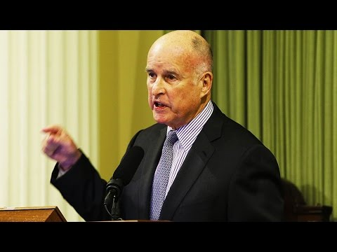 Gov. Jerry Brown: California Will Actively Resist Trump Administration's Crazy Agenda