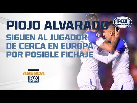 ¡¿Roberto Alvarado de Cruz Azul a Europa?!