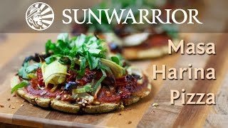 Vegan Pizza Recipe | Masa Harina Pizza | Jason Wrobel | Sunwarrior