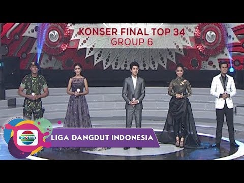 Highlight Liga Dangdut Indonesia - Konser Final Top 34 Group 6