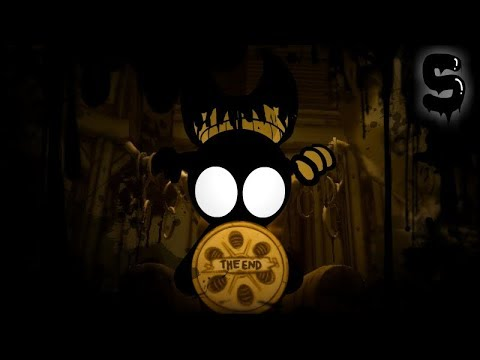 Stickman Vs Bendy And The Ink Machine, Chapter 5 In A Nutshell | Animation
