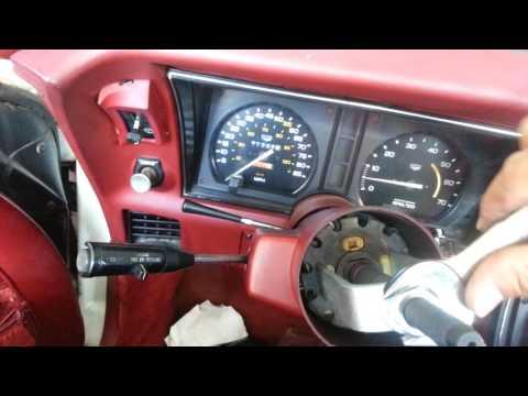 82 vette reinstalling telescopic steering wheel pt 2