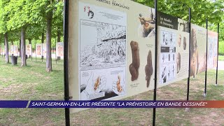 "Yvelines | Saint-Germain-en-Laye présente ""La préhistoire en bande dessinée"""