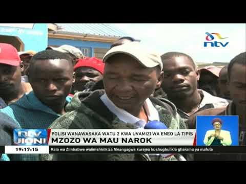 Polisi wanawasaka watu wawili kwa uvamizi wa eneo la Tipis, Mau Narok