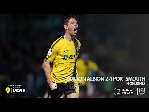 Burton Portsmouth Goals And Highlights
