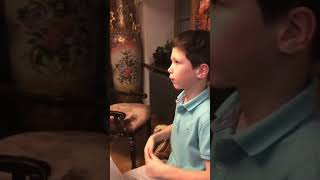 Сыновья Игоря Петренко и Екатерины Климовой музицируют с сестрой