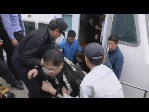 Two dead as ferry sinks off South Korea