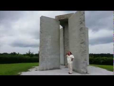 Georgia Guidestones American Stonehenge Crackheadjesus Illuminati 10 Commandments
