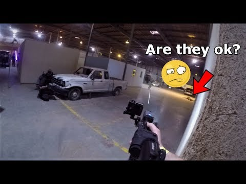 500 Player Airsoft Event in a CQB Warehouse! Operation Siege of Antioch WAR!
