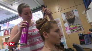 Gesellenprüfung der Friseur - Innung Esslingen