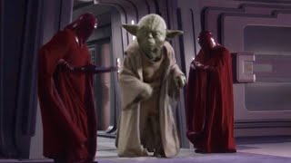 Yoda But He Is Tall