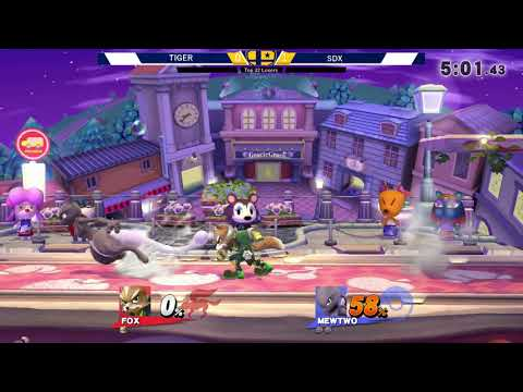 The Big House 8  TOP 32 LOSERS -  Tiger (Fox) vs SDX (Mewtwo)