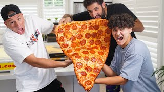 First To Eat Slice Wins $1,000 - Challenge