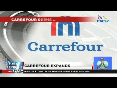 French retailer Carrefour expands to Uganda