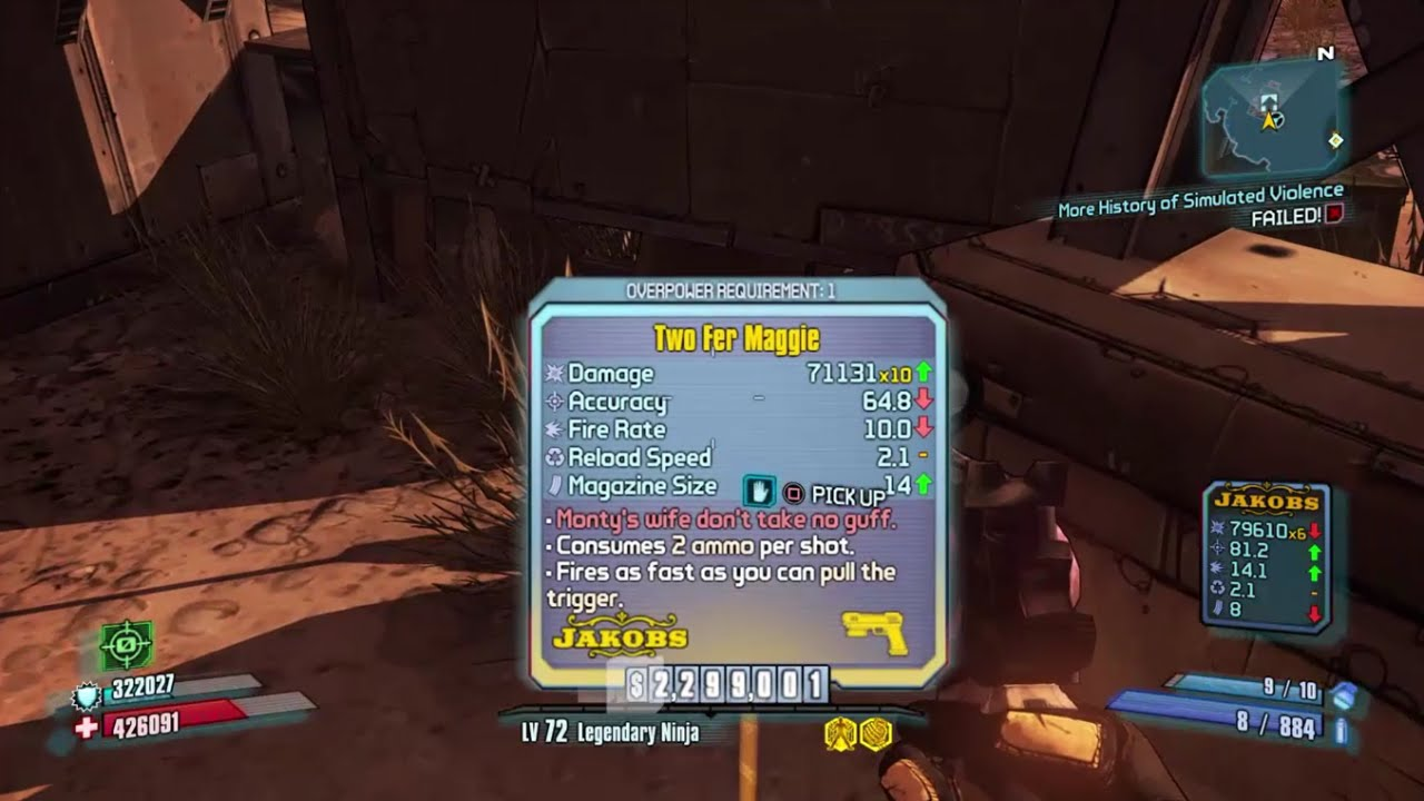 Borderlands 2 no legendary drops