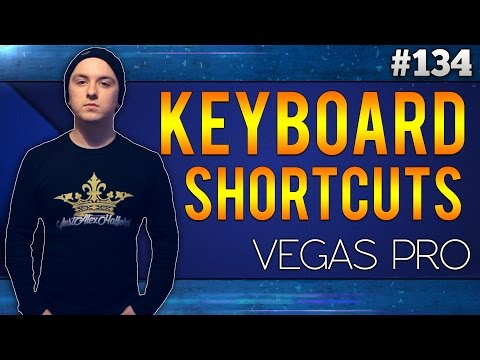 Sony Vegas Pro 13: The Most Important Keyboard Shortcuts - Tutorial #134