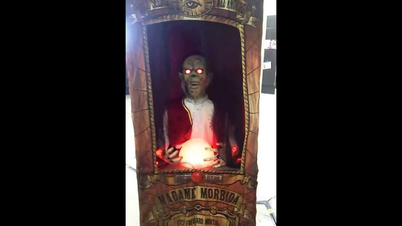 Halloween Fortune Teller Animatronic.Spirit Halloween 2013 Madame Morbid Fortune Teller