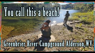 Camping at (Greenbrier Campground) Węst Virginia #camping