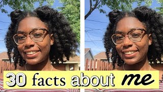 30 facts about me   get to know me tag