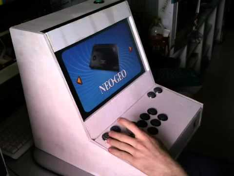 Mini MAME Arcade Cabinet (Maximus Arcade) by TheDeath - YouTube