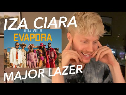EVAPORA: IZA CIARA MAJOR LAZER REACTION