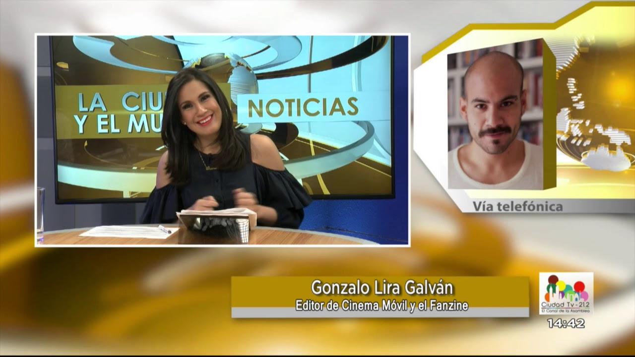 Entrevista Gonzalo Lira Galván / Guillermo del Toro - 12 de enero