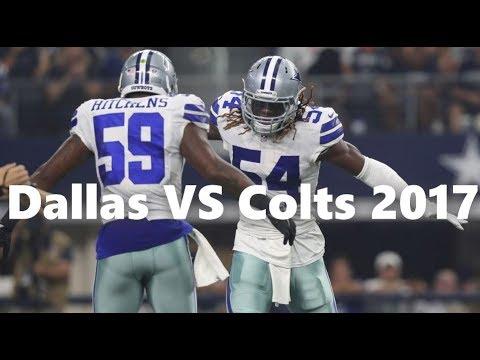 Dallas Cowboys  VS Indianapolis Colts 2017