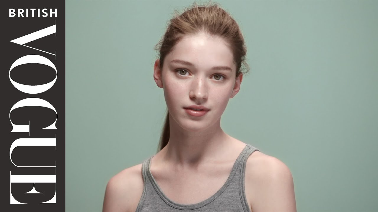 How To Exfoliate  Vogue's Makeup Tutorials  Vogue Beauty School  British  Vogue