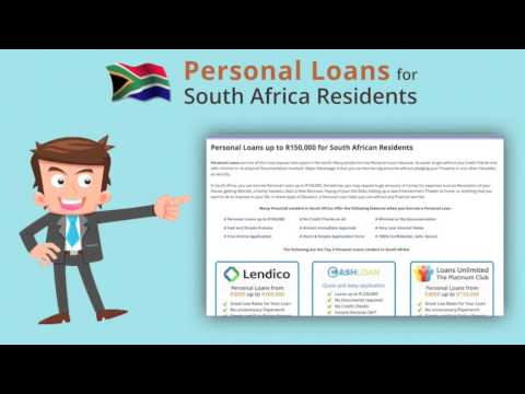 Personal Loans South Africa