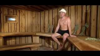 Баня по - черному !(На Руси считали, что баня по-черному - самое стерильное место. В такой бане даже рожали. Здесь нет трубы -..., 2014-02-09T22:38:35.000Z)