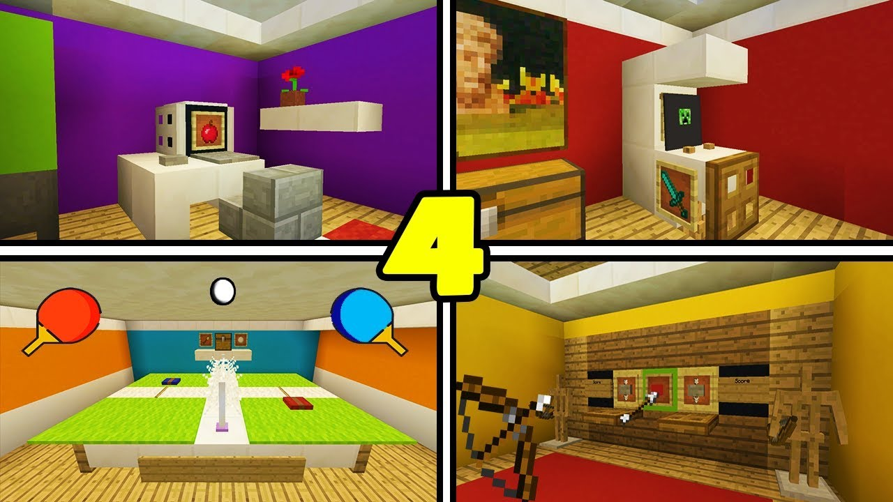 minecraft tutorial 4 awesome things to add to your house 1