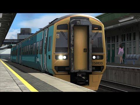 Train Simulator South Wales Coastal Scenario Pack 1: Arriva Class 158 - 2: Cardiff Central - Swansea