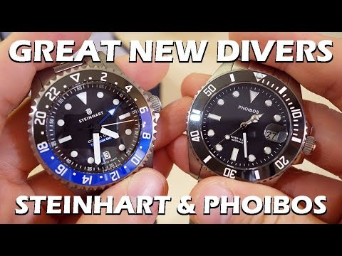 GREAT New Dive Watches! Steinhart Ocean GMT & Phoibos Great White Preview - Perth WAtch Suppl #8