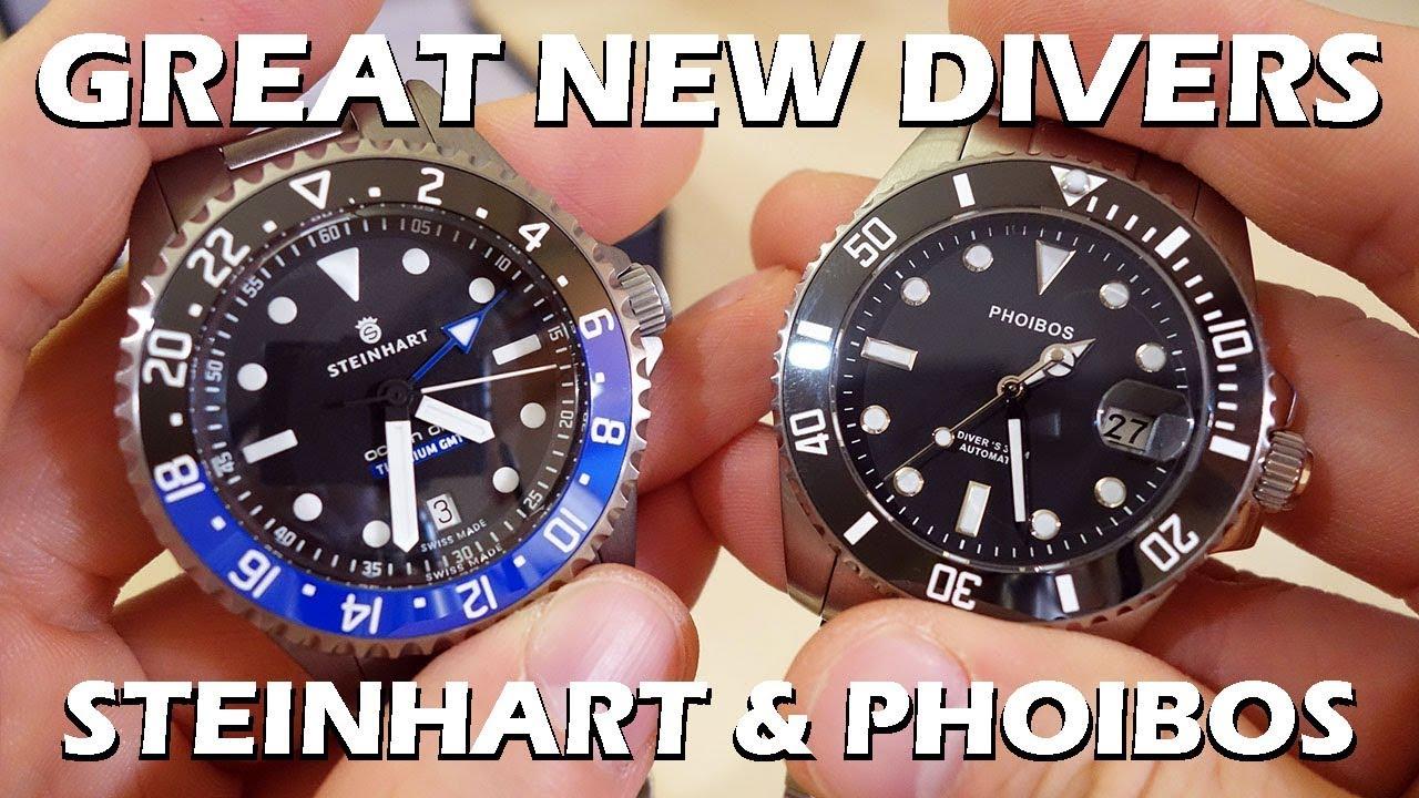 Steinhart Ocean 1 Titanium 500 Watch Review - YouTube