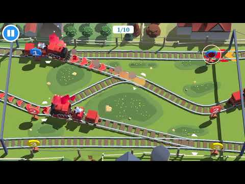 Train Conductor World. iOS Gameplay. Launch Video.