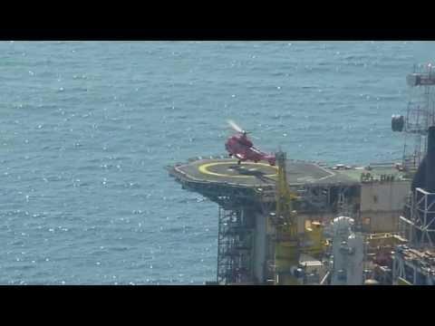Bond L2 landing offshore.