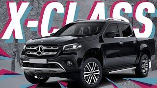 Протестировали пикап Мерседес в России/Mercedes-Benz X Class/Большой тест драйв