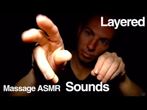 ASMR Trigger Therapy 6.2 Layered Sounds + Inaudible Unintelligible