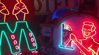 Nevada Neon Project Sign From Wells, Nevada