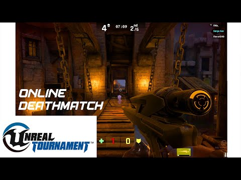 Unreal Tournament 4 - Aiming from afar