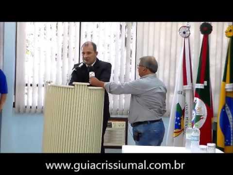 Discurso de Roberto Bergmann, posse prefeito de Crissiumal 2017