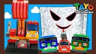 Tayo Kendaraan berat Mainan menunjukkan l #36 Hantu! Ada hantu!! l Tayo Bus Kecil