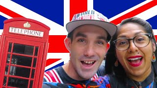 AMERICANS GO TO LONDON - FIRST TIME ABROAD - UK TRAVEL VLOG - LONDON TRIP