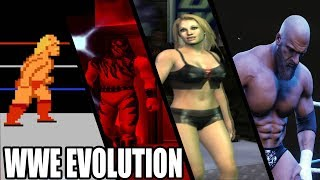 Evolution of WWE Games (1989 - 2018)