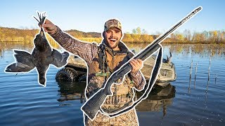 FLOODED Farm COOT Duck Hunting Challenge (CATCH CLEAN COOK)