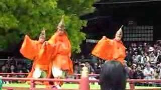 Bugaku Performance - Meiji Jingu Tokyo 2008