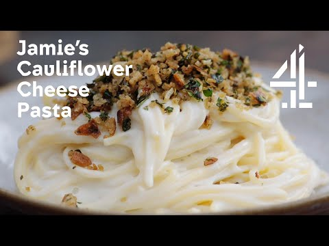 Jamie: Keep Cooking Family Favourites l Jamie Oliver's Creamy Cauliflower Cheese Pasta