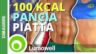 Brucia 1000 Calorie per Dimagrire la Pancia
