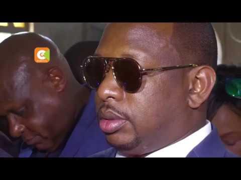 Governor Mike Sonko returns to Nairobi